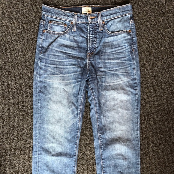 J. Crew Denim - JCrew StraightAway crop jeans